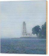 Erie Light House Wood Print