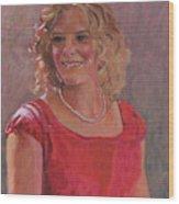 Erin Hiatt - Junior Miss 2009 Wood Print
