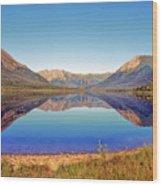 Ernie Lake Wood Print