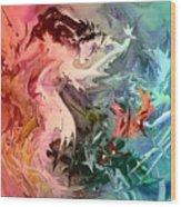 Eroscape 08 1 Wood Print