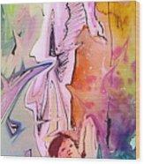 Eroscape 09 1 Wood Print