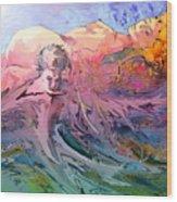 Eroscape 10 Wood Print