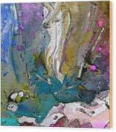 Eroscape 1104 Wood Print