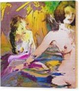 Eroscape 15 2 Wood Print
