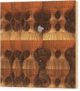 Erosion Wood Print