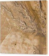 Erosive Patterns Are Emerging Wood Print