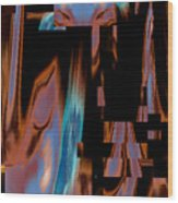 Erotic Composure - Practical Fantasy 2015 Wood Print by James Warren