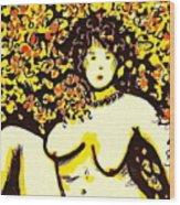 Erotic Desire Wood Print