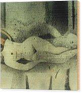 Erotic Mood Wood Print