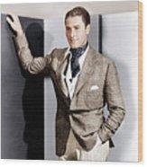 Errol Flynn, Ca. 1930s Wood Print