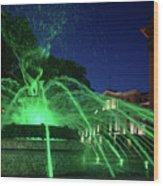 Eruption Of Green Waters, Sofia Wood Print