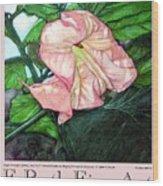 E.ruth Fine Art Poster 1 Wood Print