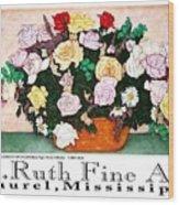 E.ruth Fine Art Poster 2 Wood Print