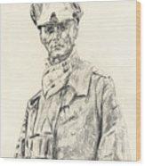Erwin Rommel Wood Print