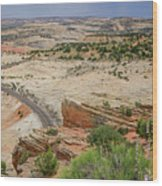 Escalante River Basin Wood Print
