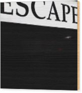 Escape Wood Print