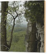 Escarpment Tunnel Wood Print