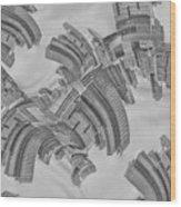 Escheresque Nyc Wood Print