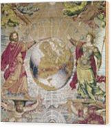 Escorial: Tapestry Wood Print