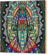 Espiritu 1- Goddess Wood Print