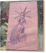 Espuela Wood Print