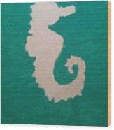 Essance Of The Sea Wood Print