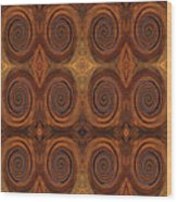 Essence Of Rust - Tiled Wood Print