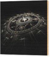 Essence Of Time Wood Print by Richard Ortolano