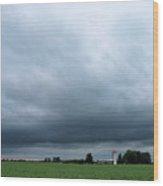 Essex County Farmland Wood Print
