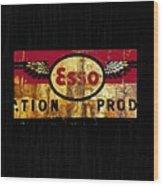 Esso Circa 1920's Wood Print
