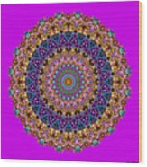 Estate Jewels Mandala No. 2 Wood Print