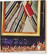 Estee Lauder Moscow Wood Print