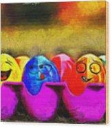 Ester Eggs - Pa Wood Print