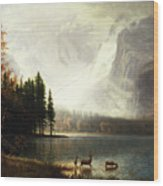 Estes Park, Colorado, Whyte's Lake Wood Print