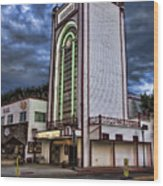 Estes Park Theater Wood Print