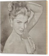 Esther Williams, Vintage Hollywood Actress Wood Print