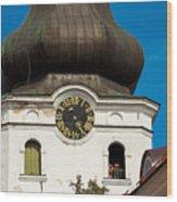 Estonian Baroque Onion Dome Wood Print