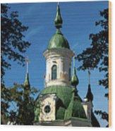 Estonian Church Orthodox And Baroque Wood Print