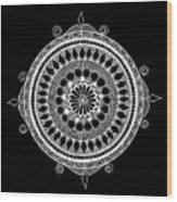 Estrella Mandala Wood Print