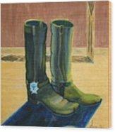 Et Par Stoevler 1996 Wood Print