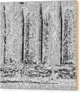 Etching Wood Print