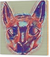 Eternal Cats Wood Print