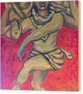 Eternal Dancer Wood Print