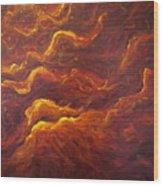 Eternal Flames Wood Print
