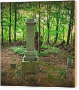 Eternal Resting Place Wood Print