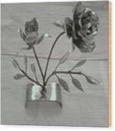 Eternal Rose Wood Print