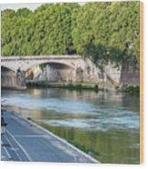 Eternal Tiber Wood Print