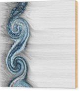 Eternal Wheel  Wood Print