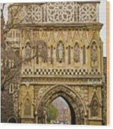 Ethelbert Gate Wood Print