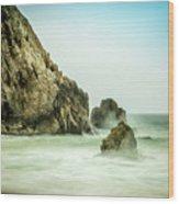 Ethereal Beach 2 Wood Print